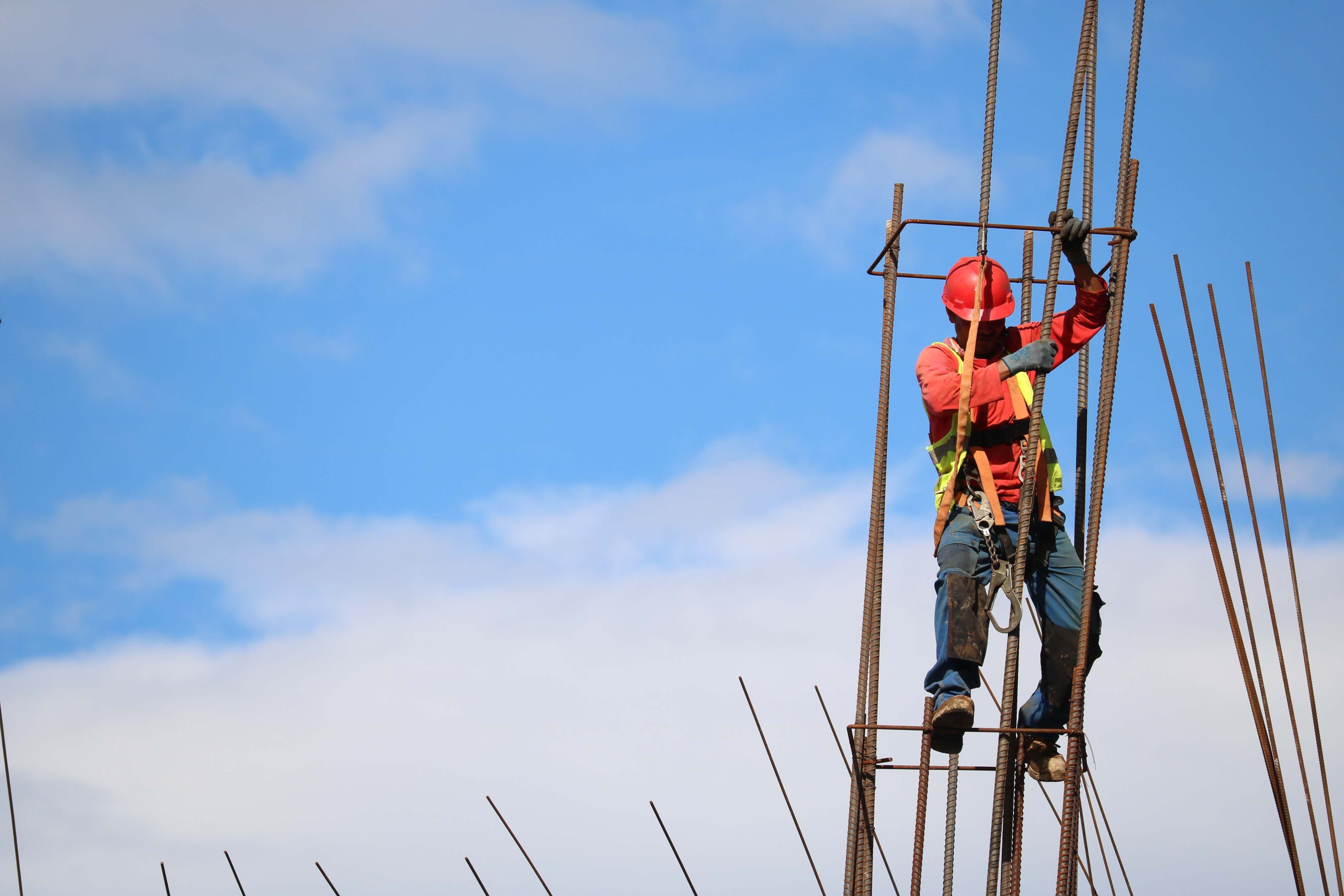 How to estimate structural steel for construction projects.